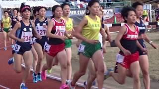 平成29年度 第6回京都産業大学長距離競技会 女子3000m2組 2017.11.25 於...