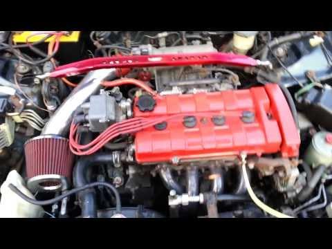1994 Acura Integra LS. Lovely engine sound!!!