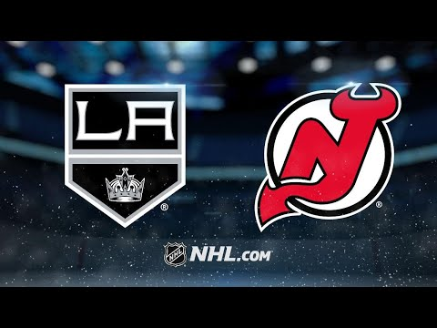 Hall scores twice as Devils down Kings, 5-1