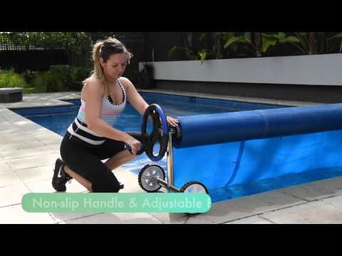 Klika solar pool covers and rollers