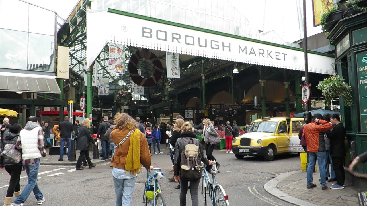 Of Borough Market London Bridge