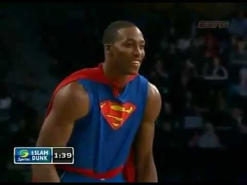 Dwight Howard superman dunk