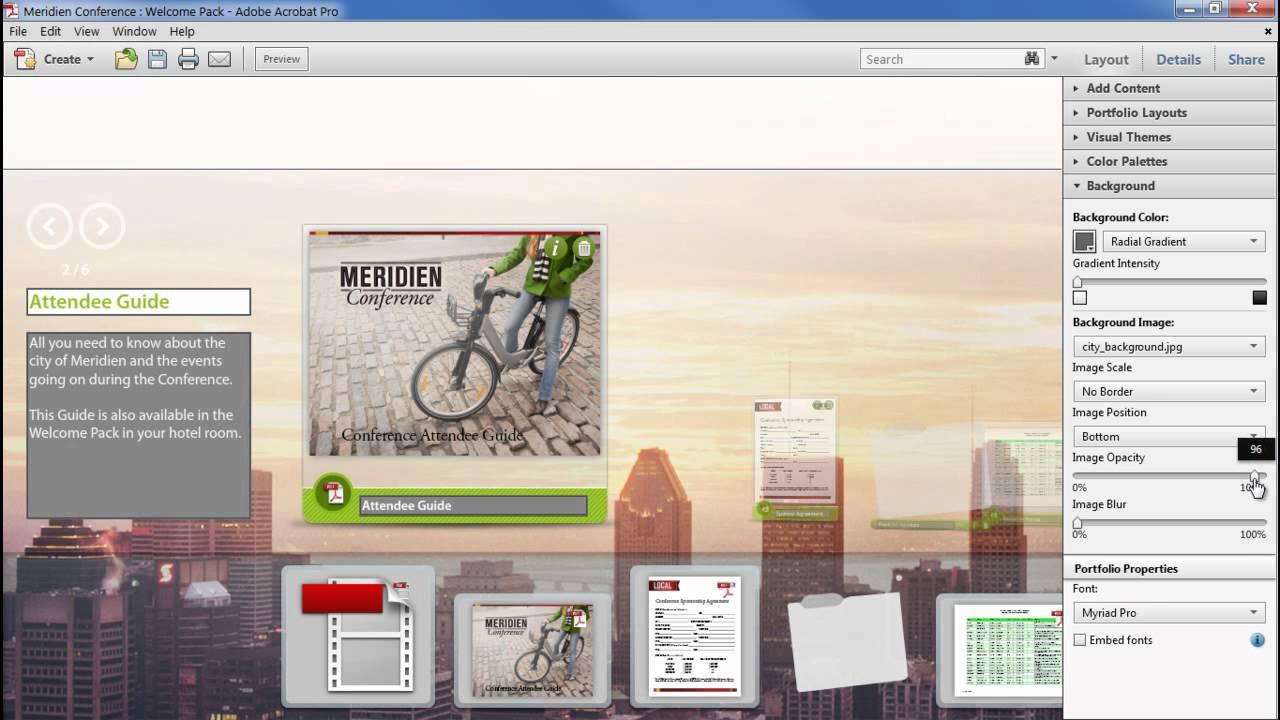 How to Design a PDF Portfolio | Adobe Document Cloud