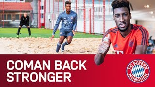 Kingsley Coman working on his Comeback! #ComanBackStronger