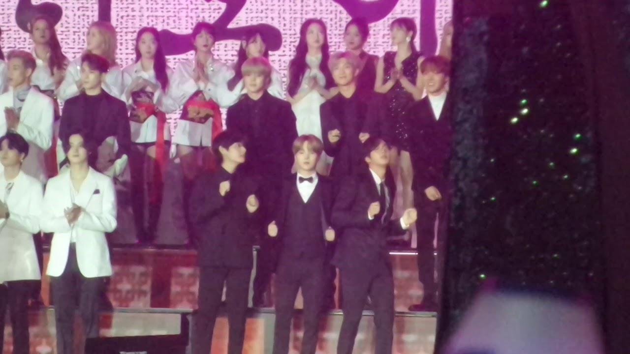 20191227 KBS 가요대축제 방탄소년단 오프닝 두번째 (BTS)