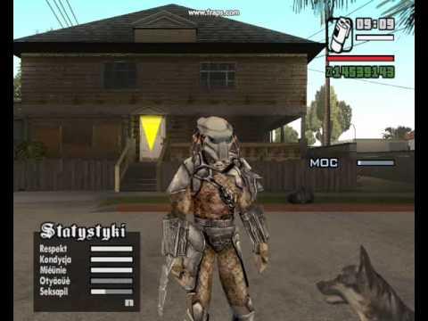 GTA SA - Alien vs Predator