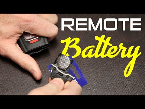 How to Install a Remote/Key Battery on an Audi S4