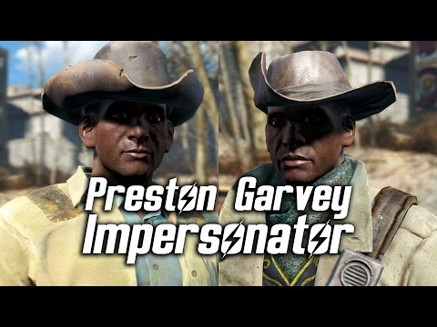 Fallout 4 - Preston Garvey Impersonator (Random Encounter)