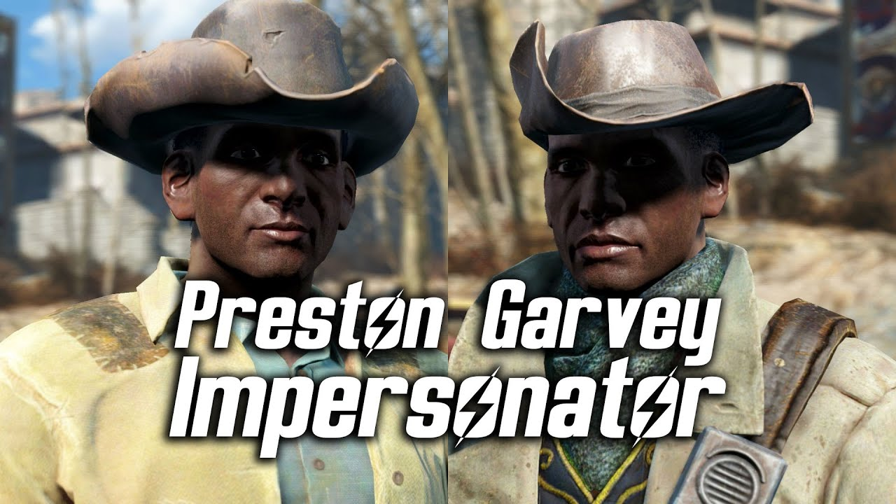 maxresdefault fallout 4 preston garvey impersonator (random encounter) youtube