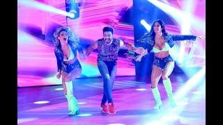 ¡Hernán Piquín, Marcasoli y Macarena Rinaldi bailaron un cuarteto de lujo!