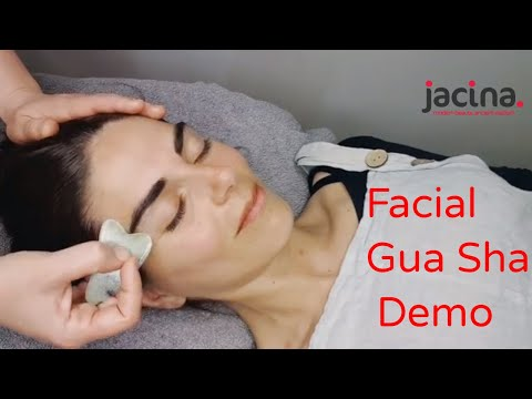Facial gua sha with Anouska the goddess space