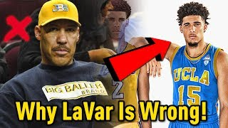 Why liangelo ball could make the nba!! why lavar ball could be wrong about his middle son
