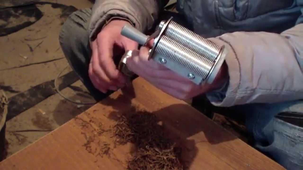 Резка табака своими руками фото 636