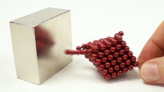 Magnet Collision in Slow Motion | Magnetic Games