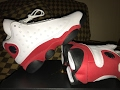 Jordan 13 Cherry (Chicago) GS Review on Foot