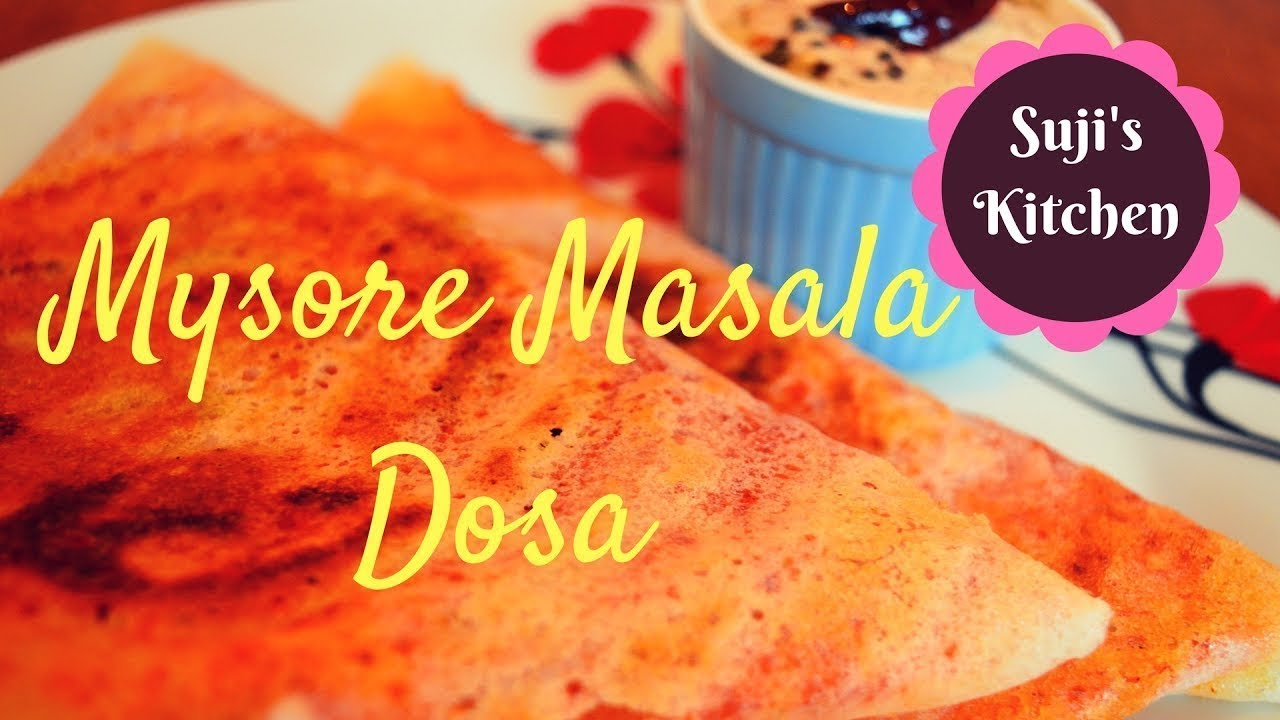 புகழ்பெற்ற மைசூர் மசாலா தோசை இந்த மாதிரி டேஸ்டா செய்துபாருங்க|| Tasty Mysore Masala dosa
