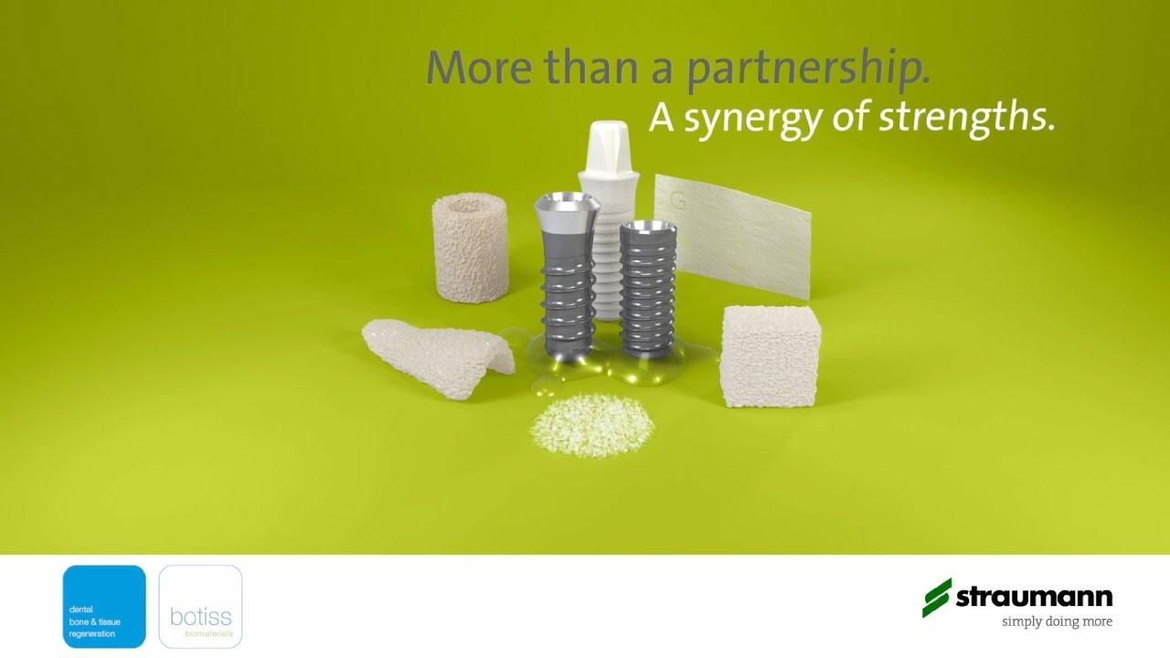 Straumann & botiss  More than a partnership  A synergy of strengths