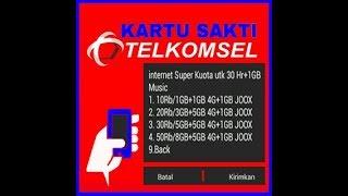 Cara Mengatasi Paket Internet Super Murah Hilang - Telkomsel Sakti