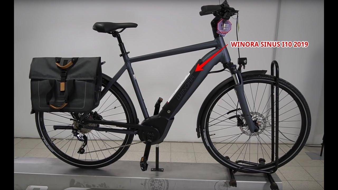 Winora Sinus I10 E Bike Trekkingrad 2019 Complete Walkaround Komplette Erklärung Kai Gimmler Bous Youtube