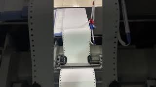 도트 프린터 소리 dot printer sound