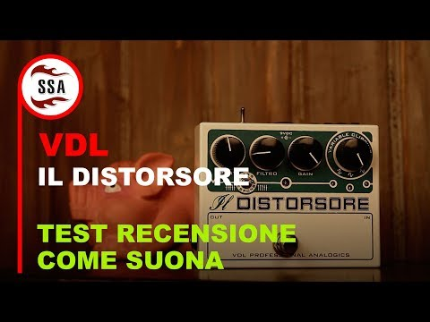 VDL Il Distorsore - Il drive boutique made in Italy di Carl Verheyen