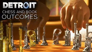 Detroit: Become Human - All Chess and Book Choices (Win/Lose/Draw)