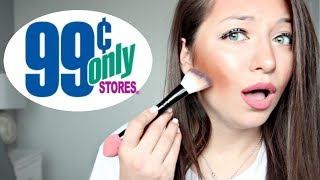 99 CENT STORE MAKE-UP TESTING