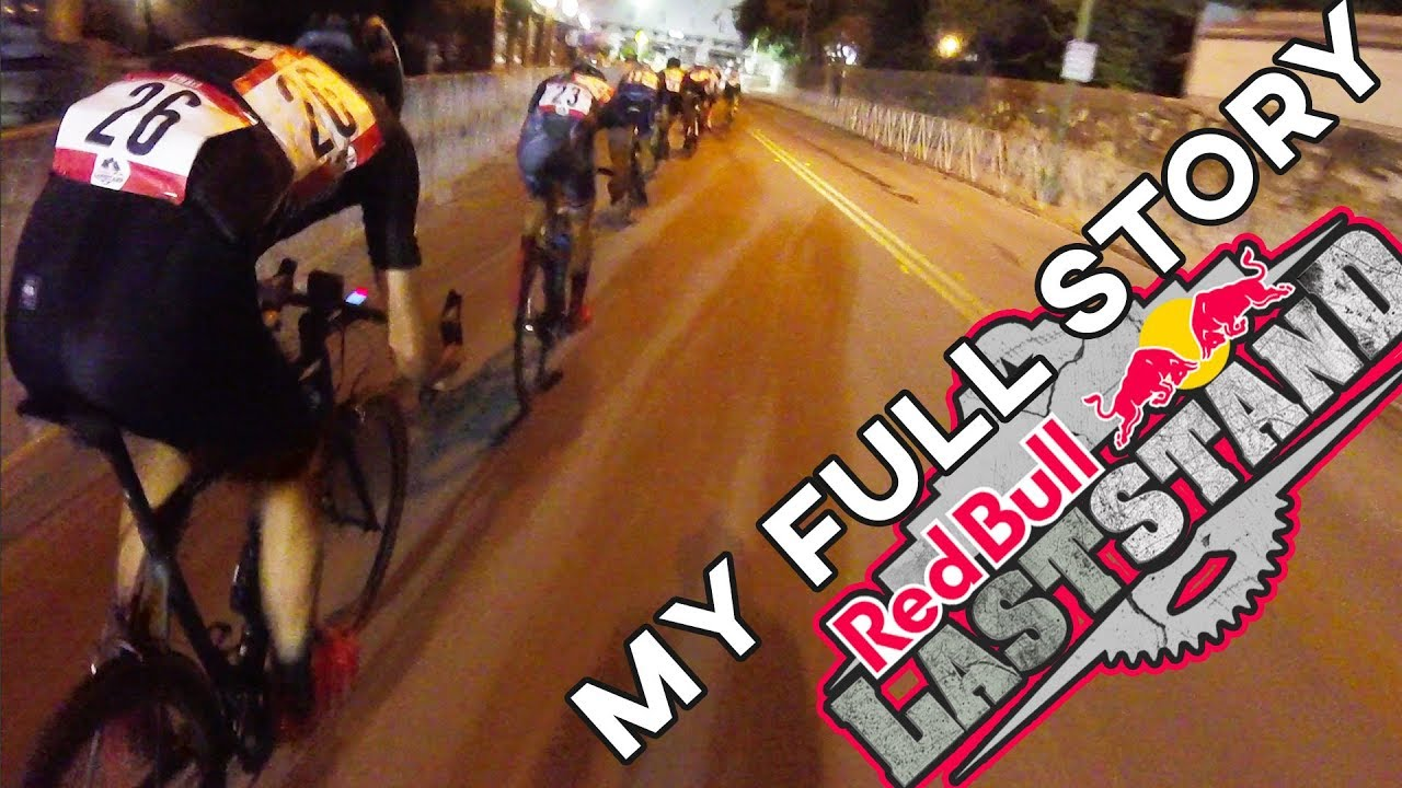 The Red Bull Last Stand - My FULL Story (THE CRAZIEST CRIT RACE)