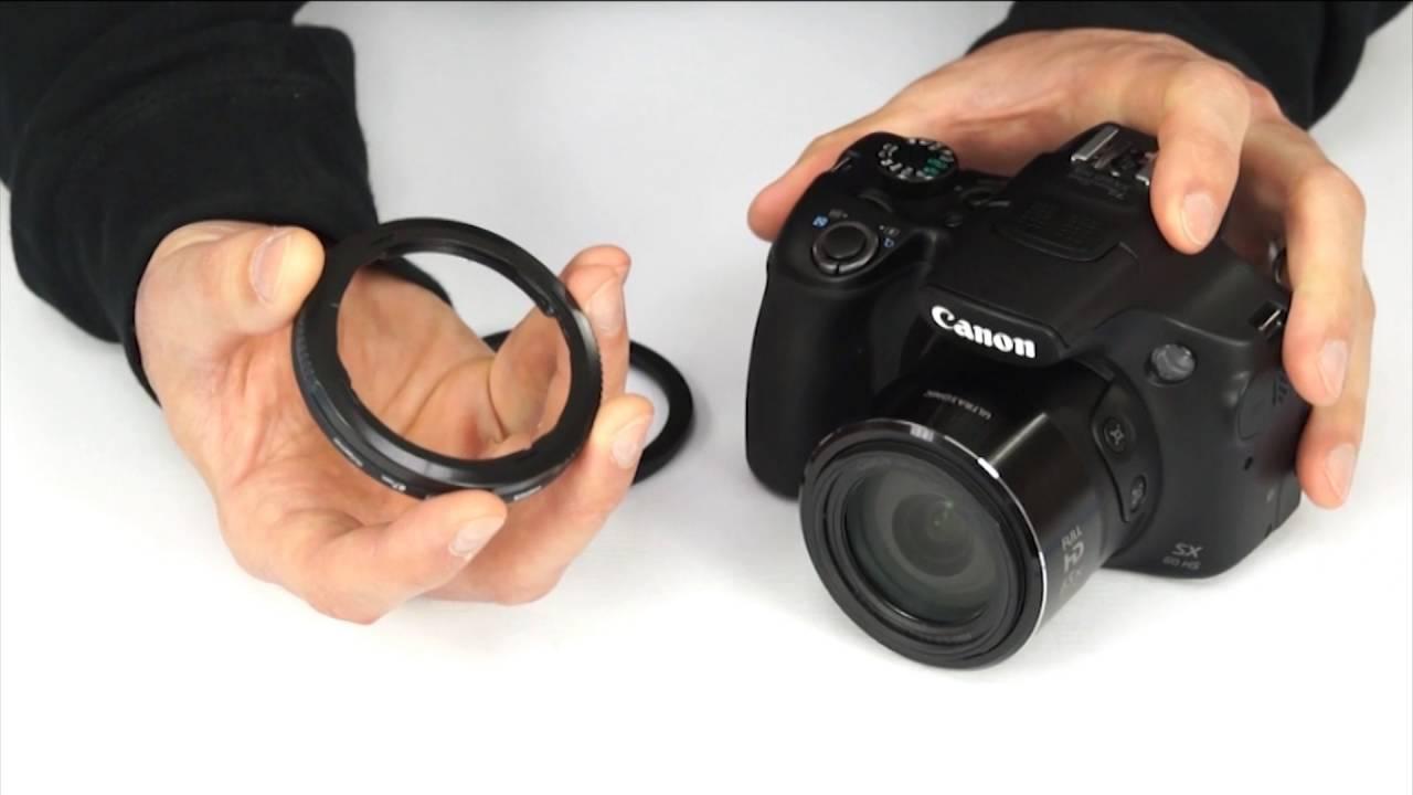 prix bas qualité-supérieure comment chercher How to attach lens accessories to a Canon PowerShot SX60 HS (and other  SX-series cameras)