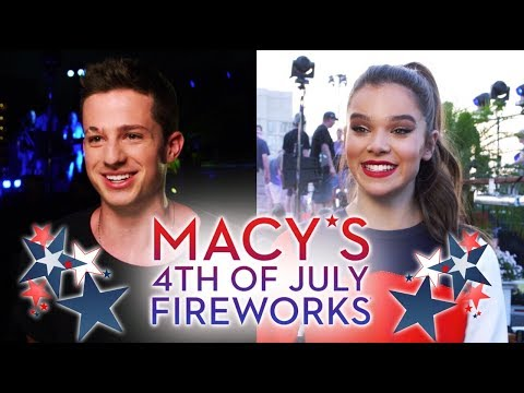 Charlie Puth & Hailee Steinfeld - Macy's Fourth of July Fireworks Spectacular 2017