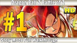 Dragon Ball Z Battle of Z Gameplay Walkthrough Part 1 | Story Mode | XBox 360 - PS3
