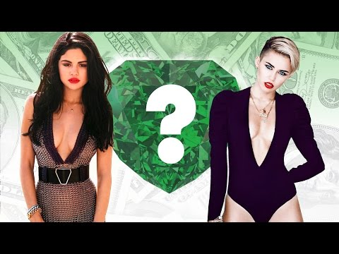 WHO'S RICHER? - Selena Gomez or Miley Cyrus? - Net Worth Revealed! (2016)