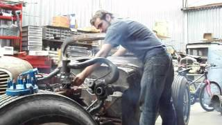 ratrod. turbo 250 chevy inline 6