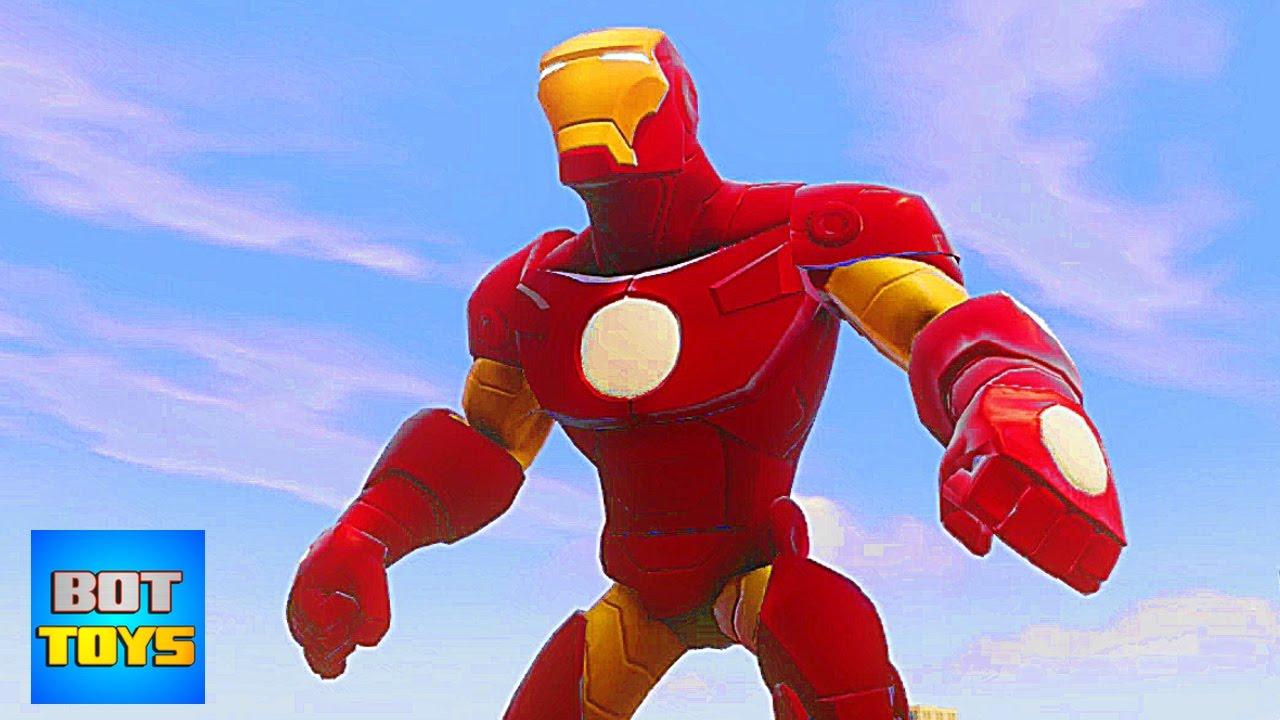 Ironman Dibujos Animados En Español 1 Los Vengadores En Disney Infinity