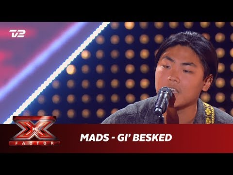 Mads synger 'Gi' Besked' - Nordstrøm (5 Chair Challenge) | X Factor 2019 | TV 2