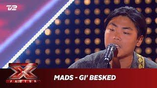 Mads synger 'Gi' Besked' - Nordstrøm (5 Chair Challenge)   X Factor 2019   TV 2