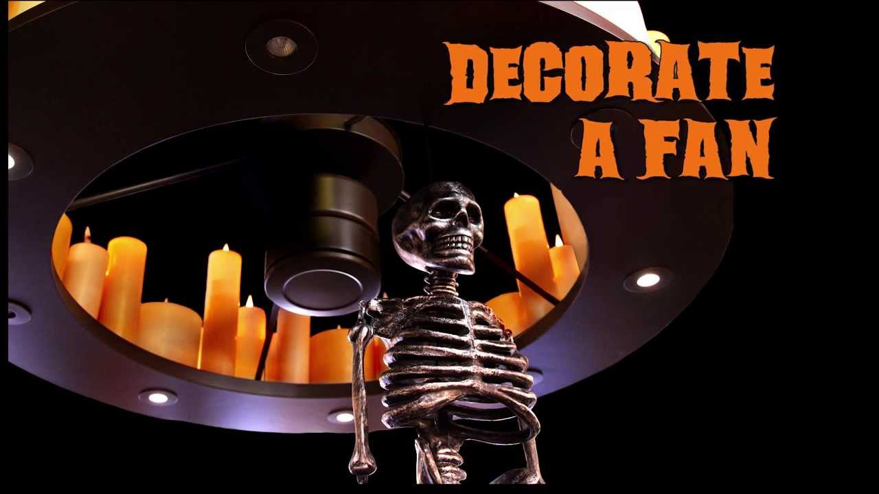 Halloween Contest Ceiling Fans and Pumpkin Carving  YouTube