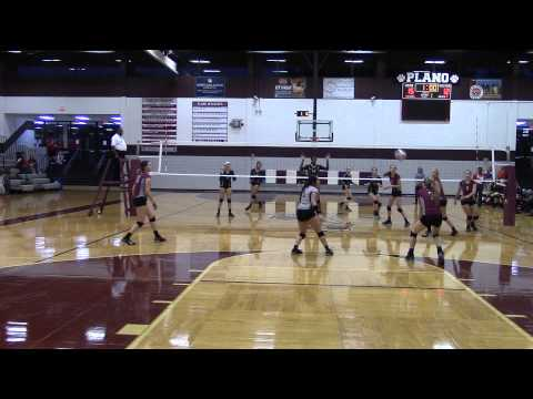 Plano Wildcat JV Volleyball vs Plano East JV - Sep 12, 2014 Gm1