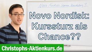 Novo Nordisk Aktie - Kurssturz als Einstiegschance??  | Christophs Aktienkurs