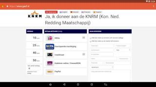 Installeren Geef App via Google Play Store