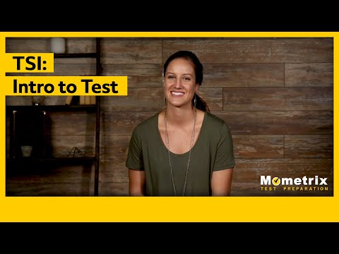 What is the TSI Test?
