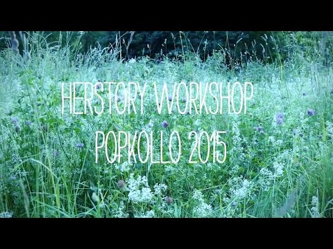 Herstory fanzine workshop at Popkollo