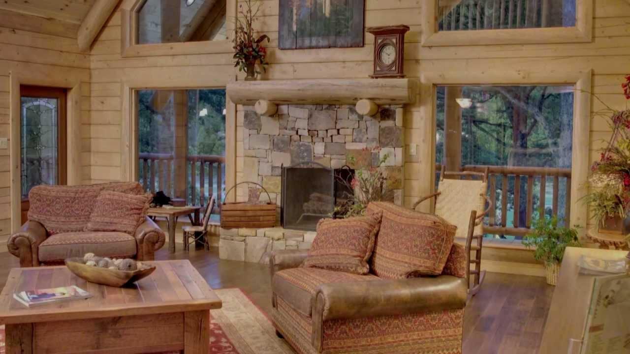 Log cabin model homes georgia