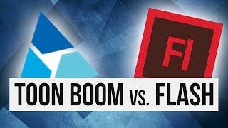Toon Boom Harmony vs Flash (Animate CC)