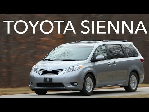 2015 Toyota Sienna Quick Drive   Consumer Reports