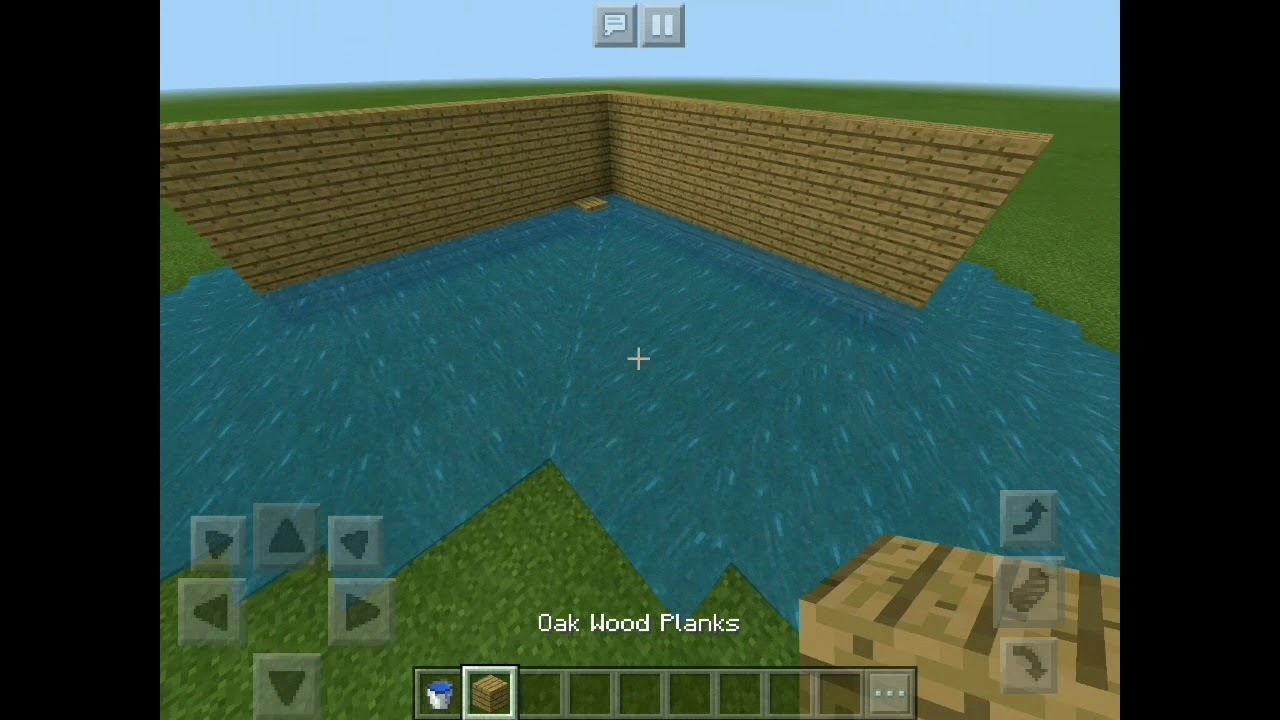 HOW TO MAKE A TSUNAMI IN MINECRAFT PE NO MODS AND COMMANDS