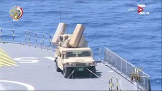 اختتام فعاليات التدريب البحري المصري الفرنسي المشترك