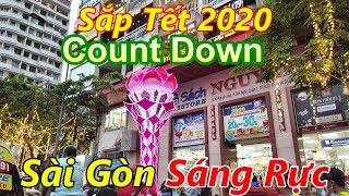 Nhộn Nhịp Đón Tết 2020, Sài Gòn Trang Trí Rực Rỡ (Đường Tự Do - Đường Nguyễn Huệ)