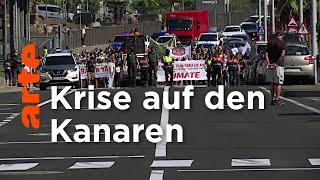 Spanien: Gestrandet auf Gran Canaria | ARTE Reportage