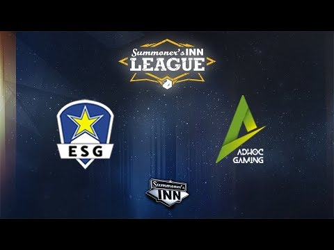 ESG vs AHG | SINNLeague 1st Div: Season 1, Tag 1